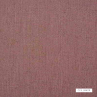 GPJ Baker - Luna - Rose  | Curtain & Upholstery fabric - Burgundy, Plain, Fiber blend