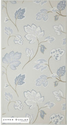 James Dunlop Indent - Fontaine Wallpaper - Porcelain  | Wallpaper, Wallcovering - Grey, Craftsman, Deco, Decorative, Fiber blend, Floral, Garden, Domestic Use