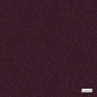 Kravet - Jefferson Wool - Aubergine  | Upholstery Fabric - Burgundy, Plain, Fibre Blends, Standard Width