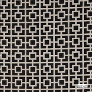 Kravet - Streetwise - Licorice  | Upholstery Fabric - Beige, Black, Contemporary, Small Scale, Synthetic fibre, Black - Charcoal, Lattice - Trellis