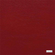 Kravet - L-Portofin_Scarlet  | Upholstery Fabric - Leather, Plain, Red, Fibre Blends