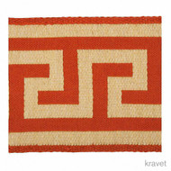 Kra_T30607_24 'Sunset' | Gimps & Braids, Curtain & Upholstery Trim - Beige, Red, Red, Synthetic fibre
