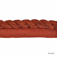 Kravet - Free Spirit - Russet  | Flange Cord, Trim - Red, Fibre Blends