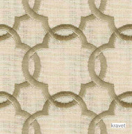 Kravet - Art Of Balance - Sand  | Upholstery Fabric - Beige, White, Contemporary, Fiber blend, Mediterranean, Quatrefoil, Transitional, White