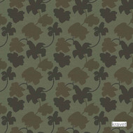 Kravet - Tatogami - Mineral  | Upholstery Fabric - Green, Floral, Garden, Midcentury, Natural fibre, Silk, Natural