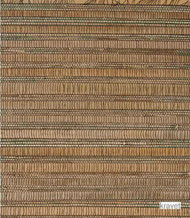 Kravet - W3053_816  | Wallpaper, Wallcovering - Brown, Fibre Blends, Strie