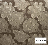 Mokum Caledonia - Sable  | Curtain & Upholstery fabric - Brown, Craftsman, Deco, Decorative, Eclectic, Floral, Garden, Natural Fibre, Organic, Tropical, Domestic Use