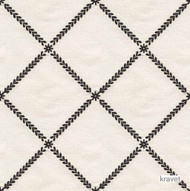 Kravet - 28327_816  | Upholstery Fabric - Beige, Black, Natural fibre, Silk, Traditional, Black - Charcoal, Natural, Diamond - Harlequin