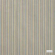 Kravet - Impasto - Caspian  | Upholstery Fabric - Beige, Blue, Gold - Yellow, Stripe, Synthetic fibre, Traditional