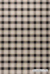 Brunschwig And Fils - Brunschwig Plaid - Coal-Tan  | Wallpaper, Wallcovering - Brown, Check, Farmhouse, Gingham