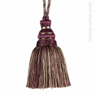 Broadway' | Key Tassel, Curtain & Upholstery, Trim - Beige, Burgundy, Gold - Yellow, Traditional, Domestic Use