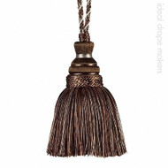 IDM - New York Key Tassel 4646-00 _9975 Central Park    Key Tassel, Curtain & Upholstery, Trim - Brown, Silver, Tan, Taupe, Traditional, Domestic Use