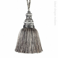 IDM - New York Key Tassel  4646-00 _9968 Manhattan  | Key Tassel, Curtain & Upholstery, Trim - Grey, Silver, Traditional, Domestic Use