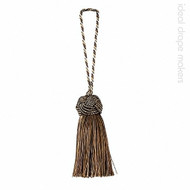 Park' | Key Tassel, Curtain & Upholstery, Trim - Brown, Silver, Traditional, Tan - Taupe, Domestic Use