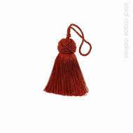 IDM - Classic Key Tassel  1050-00 _8566 Earth  | Key Tassel, Curtain & Upholstery, Trim - Brown, Traditional, Domestic Use, Dry Clean
