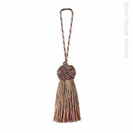 Harlem' | Key Tassel, Curtain & Upholstery, Trim - Beige, Brown, Red, Red, Traditional, Domestic Use
