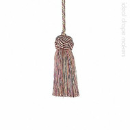 IDM - Classic Exquisite Key Tassel 1050-00 _8894 Harlequin  | Key Tassel, Curtain & Upholstery, Trim - Gold,  Yellow, Green, Pink, Purple, Traditional, Domestic Use