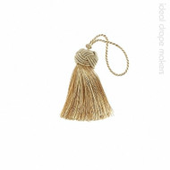 IDM - Classic Key Tassel  1050-00 _8873 Harvest Gold  | Key Tassel, Curtain & Upholstery, Trim - Gold,  Yellow, Tan, Taupe, Traditional, Domestic Use, Dry Clean