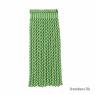Spring' | Fringe, Curtain & Upholstery Trim - Green, Synthetic fibre, Traditional