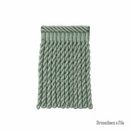 Brunschwig And Fils - Coeur Bullion-S - Jade  | Fringe, Curtain & Upholstery Trim - Blue, Green, Synthetic fibre, Traditional