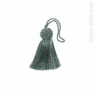 IDM - Classic Key Tassel  1050-00 _8871 Teal  | Key Tassel, Curtain & Upholstery, Trim - Green, Traditional, Turquoise, Teal, Domestic Use, Dry Clean