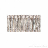 IDM - New York Cut Fringe  1795_9931  Dakota  | Fringe, Curtain & Upholstery Trim - Grey, Silver, White, Traditional, Domestic Use, Dry Clean, White