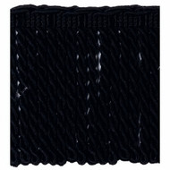 IDM - Classic Windsor Bullion Fringe  4810_8050  Black  | Fringe, Curtain & Upholstery Trim - Black - Charcoal, Traditional, Domestic Use