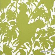 White' | - Green, White, Contemporary, Eclectic, Floral, Garden, Midcentury, White, Print