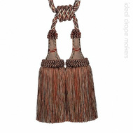 IDM - Exquisite Tie Back 1921-20 _7114 Turkish Delight    Tie back, Curtain Accessory - Terracotta, Traditional, Domestic Use