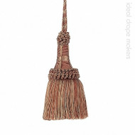 IDM - Exquisite Key Tassel  1921-00 _8822 Ginger Megs  | Key Tassel, Curtain & Upholstery, Trim - Gold,  Yellow, Terracotta, Tan, Taupe, Traditional, Domestic Use, Dry Clean