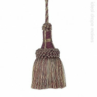 IDM - Exquisite Key Tassel 1921-00 _8846 Mulberry Avocado  | Key Tassel, Curtain & Upholstery, Trim - Beige, Pink, Purple, Traditional, Domestic Use