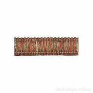 IDM - Exquisite Brush Fringe 1111_8802 Red Sherbert  | Fringe, Curtain & Upholstery Trim - Gold,  Yellow, Green, Red, Traditional, Domestic Use