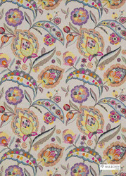 Multi' | Curtain & Upholstery fabric - Beige, Eclectic, Fiber blend, Many-Coloured, Embroidery