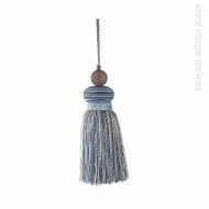 IDM_BI010 _6 'Sky' | Key Tassel, Curtain & Upholstery, Trim - Beige, Blue, Grey, Traditional, Domestic Use