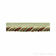 IDM - The Cotswolds Flanged Cord  BI300 _8 Patina  | Flange Cord, Trim - Brown, Gold - Yellow, Green, Linen and Linen Look, Traditional, Domestic Use