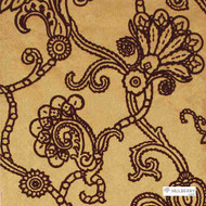 Muh_FG057_T49 '' | - Red, Damask, Floral, Garden, Jacobean, Red, Traditional