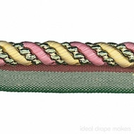 IDM - Cavalier Flanged Cord 1011_8749 Carnival  | Flange Cord, Trim - Beige, Brown, Pink, Purple, Traditional, Domestic Use