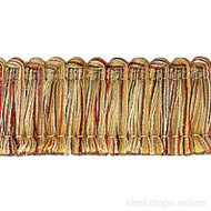 IDM_1110_8770 'Eye' | Fringe, Curtain & Upholstery Trim - Burgundy, Gold - Yellow, Green, Traditional, Tan - Taupe, Domestic Use