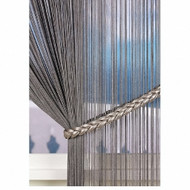 IDM_4346_4 'Chrome' | Tie back, Curtain Accessory - Silver, Domestic Use