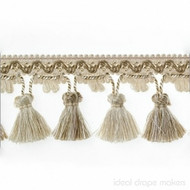 IDM - Botticelli Tassel Fringe  1825_401  Caramel  | Fringe, Curtain & Upholstery Trim - Brown, Tan, Taupe, Traditional, Domestic Use, Dry Clean
