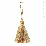 IDM - Amazonas Key Tassel  3308-00 _1515 Gold  | Key Tassel, Curtain & Upholstery, Trim - Gold,  Yellow, Linen and Linen Look, Traditional, Domestic Use, Dry Clean