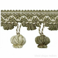 IDM_1827_1512 'Sage' | Fringe, Curtain & Upholstery Trim - Green, Traditional, Tan - Taupe, Domestic Use