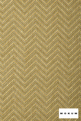 Mokum Madura - Antique  | Upholstery Fabric - Fire Retardant, Gold,  Yellow, Eclectic, Outdoor Use, Synthetic, Tropical, Washable, Chevron, Zig Zag, Commercial Use