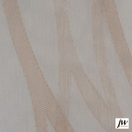 JW Design - Inspire Taupe Sheer 300cm  | Curtain Sheer Fabric - Modern, Synthetic, Tan, Taupe, Traditional, Transitional, Washable, Domestic Use, Weighted Hem, Wide Width