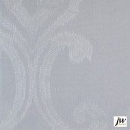 JW Design - Intrigue Ivory Sheer 300cm  | Curtain Sheer Fabric - Fire Retardant, White, Contemporary, Modern, Pattern, Synthetic fibre, Washable, White, Domestic Use
