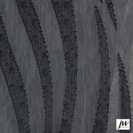 JW Design - Spirit Charcoal Sheer 300cm  | Curtain Sheer Fabric - Fire Retardant, Black - Charcoal, Contemporary, Midcentury, Organic, Pattern, Synthetic, Traditional