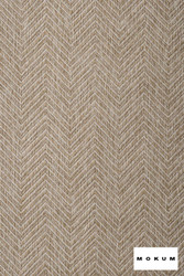 Mokum Madura - Sand  | Upholstery Fabric - Brown, Fire Retardant, Eclectic, Outdoor Use, Pattern, Synthetic, Tropical, Washable, Chevron, Zig Zag, Commercial Use, Natural
