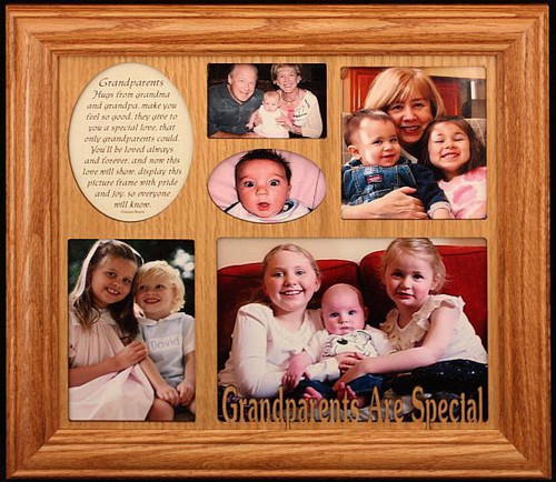 Grandparents Are Special Photo Amp Poetry Collage Frame