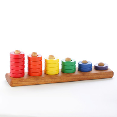 Rainbow Ring Stacking Toy
