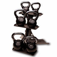 Body Solid 3-Pair Kettlebell Rack (GDKR50)